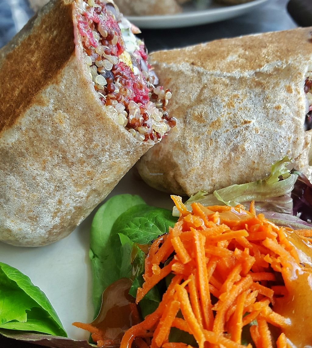 """Photo of CLOSED: Choices Kitchen  by <a href=""""/members/profile/Cyberwolf"""">Cyberwolf</a> <br/>Mental Lentil whole grain wrap <br/> September 22, 2015  - <a href='/contact/abuse/image/46437/196668'>Report</a>"""