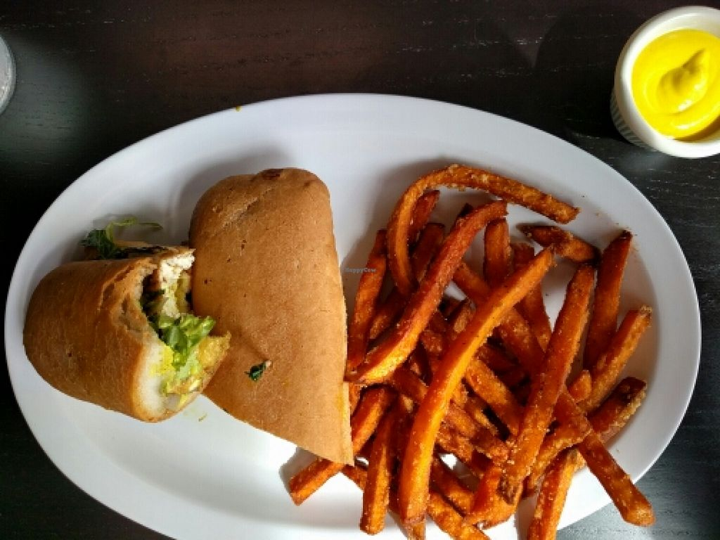 "Photo of Avocado Vegan Cafe  by <a href=""/members/profile/vegan-flys"">vegan-flys</a> <br/>Jamaican Jerk Sub w Fries <br/> March 12, 2016  - <a href='/contact/abuse/image/46443/139699'>Report</a>"