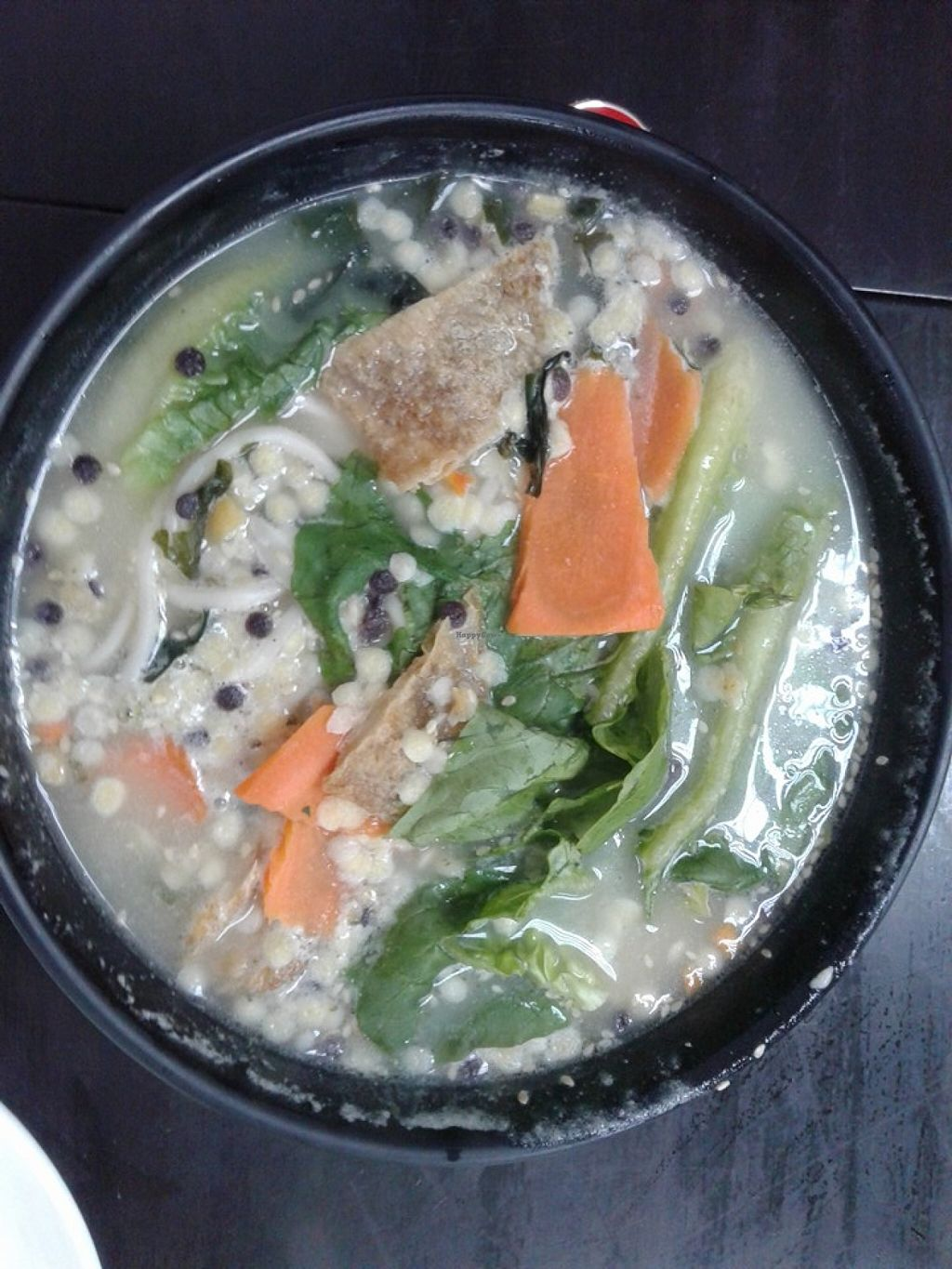 """Photo of Vege Restaurant Tong Hoe    by <a href=""""/members/profile/sfalee"""">sfalee</a> <br/>山藥拉麵 Yam Noodle <br/> June 21, 2016  - <a href='/contact/abuse/image/46478/155258'>Report</a>"""