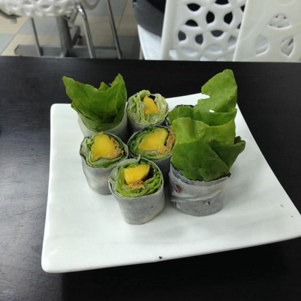 """Photo of Vege Restaurant Tong Hoe    by <a href=""""/members/profile/AndyT"""">AndyT</a> <br/>Veggie roll <br/> April 19, 2014  - <a href='/contact/abuse/image/46478/67960'>Report</a>"""
