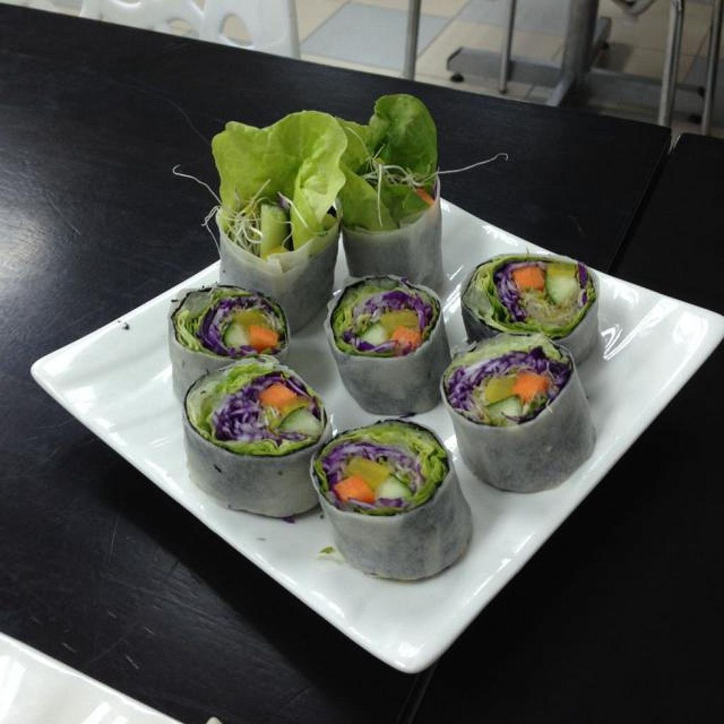 """Photo of Vege Restaurant Tong Hoe    by <a href=""""/members/profile/AndyT"""">AndyT</a> <br/>Veggie roll <br/> April 19, 2014  - <a href='/contact/abuse/image/46478/67961'>Report</a>"""