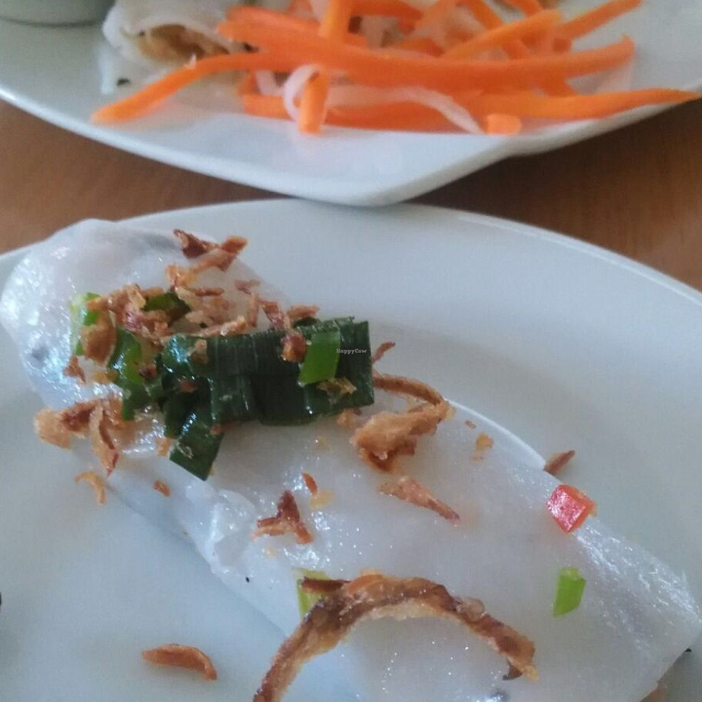 "Photo of Loving Hut - Northcote  by <a href=""/members/profile/Heutehiermorgendort"">Heutehiermorgendort</a> <br/>Steamed rice rolls with mushroom mince <br/> December 14, 2015  - <a href='/contact/abuse/image/46481/128440'>Report</a>"