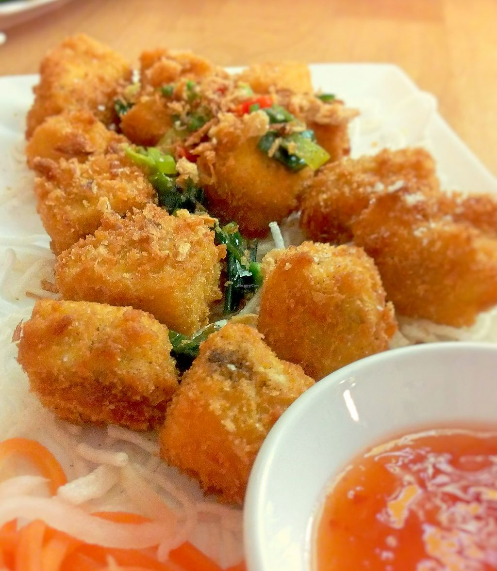 "Photo of Loving Hut - Northcote  by <a href=""/members/profile/verbosity"">verbosity</a> <br/>Crumbed Salt & Pepper Tofu <br/> August 1, 2015  - <a href='/contact/abuse/image/46481/261848'>Report</a>"
