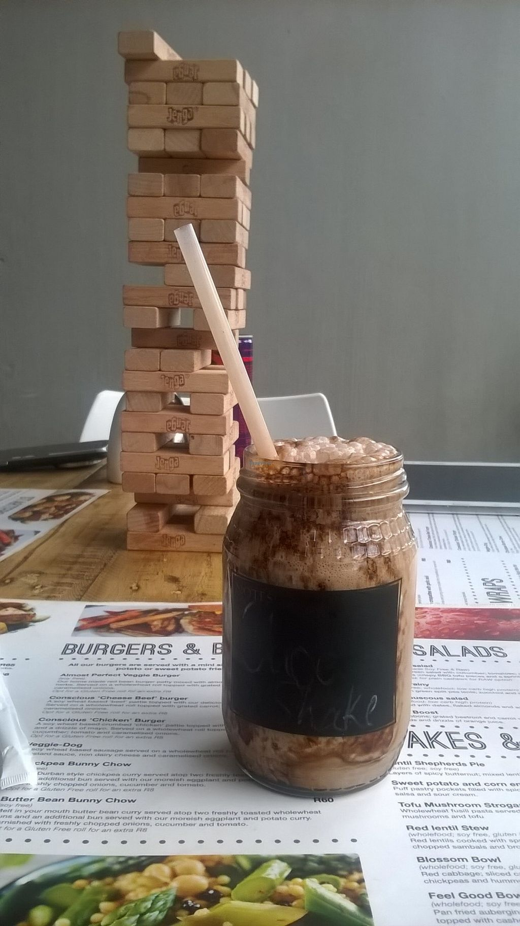 "Photo of Conscious 108  by <a href=""/members/profile/That_Lara_Girl"">That_Lara_Girl</a> <br/>Chocolate Un-milkshake and Jenga before dinner at Conscious 108 last night. Such fun! <br/> November 30, 2015  - <a href='/contact/abuse/image/46486/126743'>Report</a>"