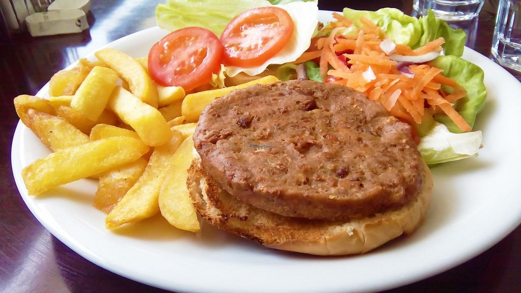 """Photo of Smile Cafe  by <a href=""""/members/profile/zcesmsk"""">zcesmsk</a> <br/>Veggie burger <br/> May 28, 2016  - <a href='/contact/abuse/image/46493/151183'>Report</a>"""