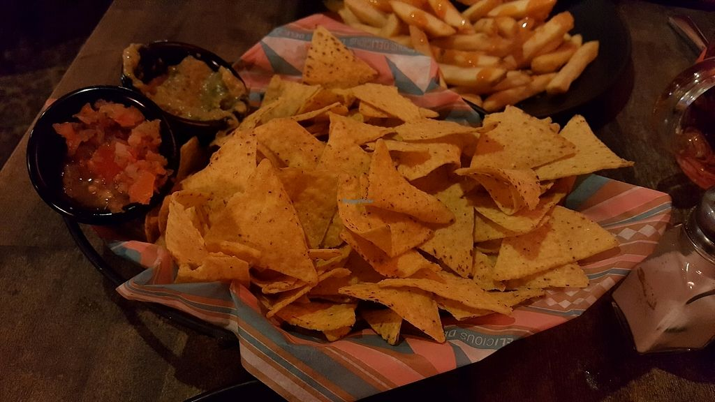 """Photo of Bar Loosister  by <a href=""""/members/profile/NicNewbs"""">NicNewbs</a> <br/>vegan nachos <br/> February 7, 2018  - <a href='/contact/abuse/image/46524/356085'>Report</a>"""