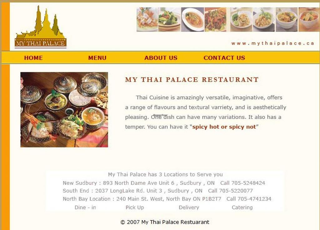 """Photo of My Thai Palace  by <a href=""""/members/profile/community"""">community</a> <br/>My Thai Palace <br/> April 15, 2014  - <a href='/contact/abuse/image/46526/67635'>Report</a>"""