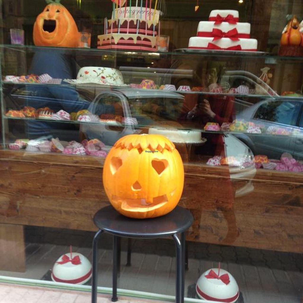 """Photo of Edes Elet Cukraszda  by <a href=""""/members/profile/Kittybiscuit"""">Kittybiscuit</a> <br/>windo for Halloween <br/> December 6, 2014  - <a href='/contact/abuse/image/46548/87380'>Report</a>"""
