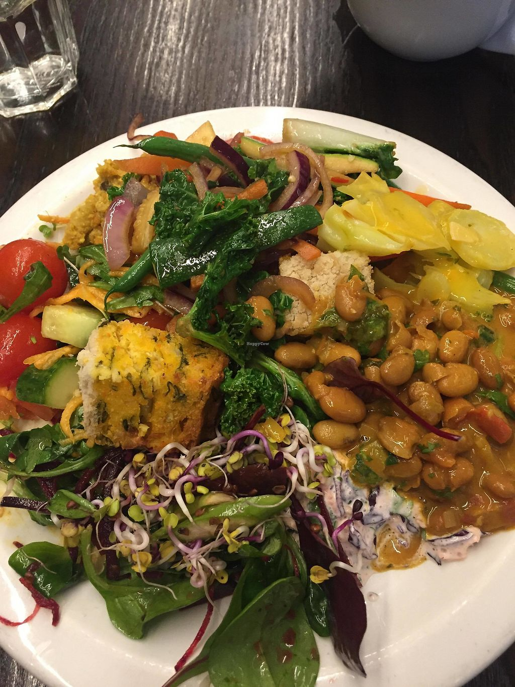 "Photo of 222 Vegan Cuisine  by <a href=""/members/profile/Yasminesan"">Yasminesan</a> <br/>Buffet plate <br/> January 29, 2018  - <a href='/contact/abuse/image/4655/352517'>Report</a>"