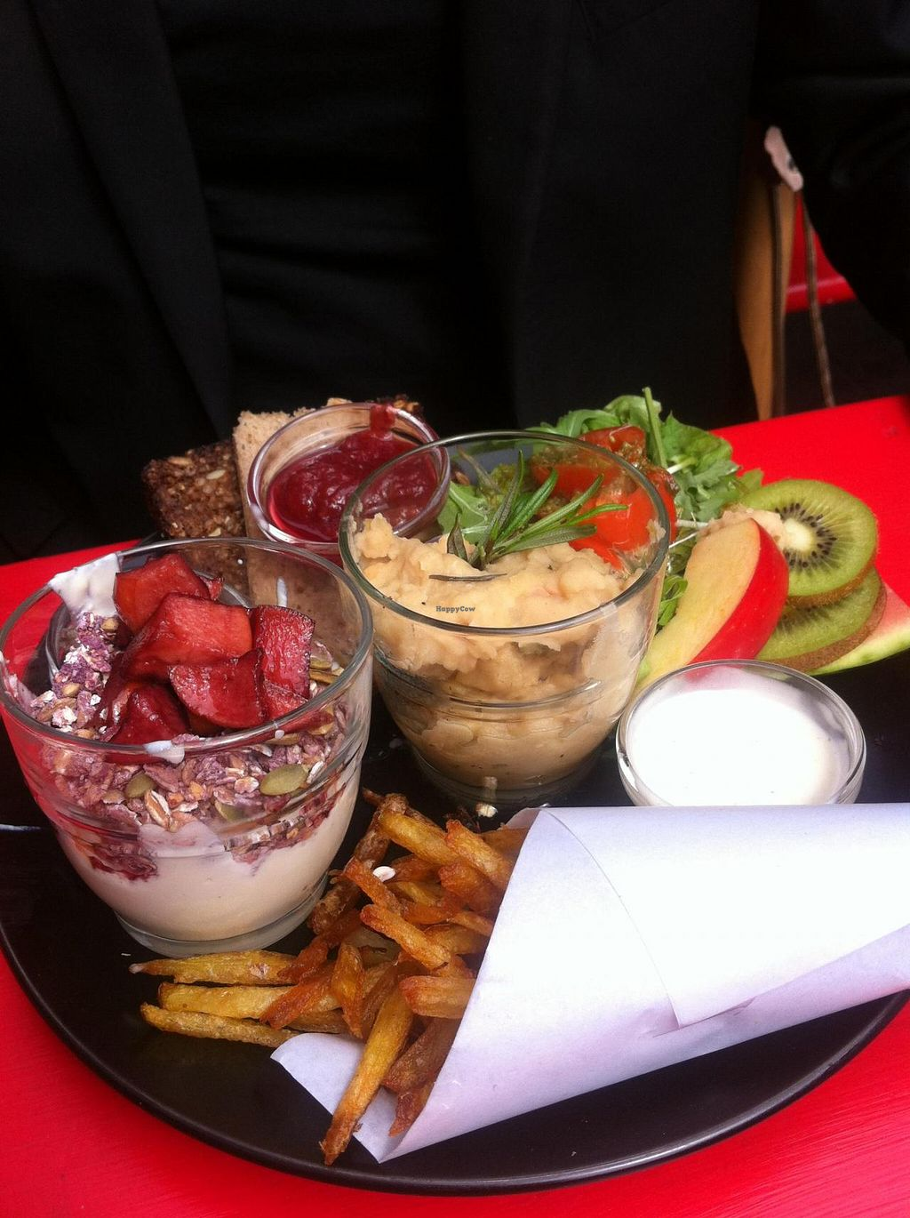 """Photo of Harbo Bar  by <a href=""""/members/profile/Karin%20Elrod"""">Karin Elrod</a> <br/>Delicious vegan brunch <br/> June 18, 2014  - <a href='/contact/abuse/image/46562/72251'>Report</a>"""