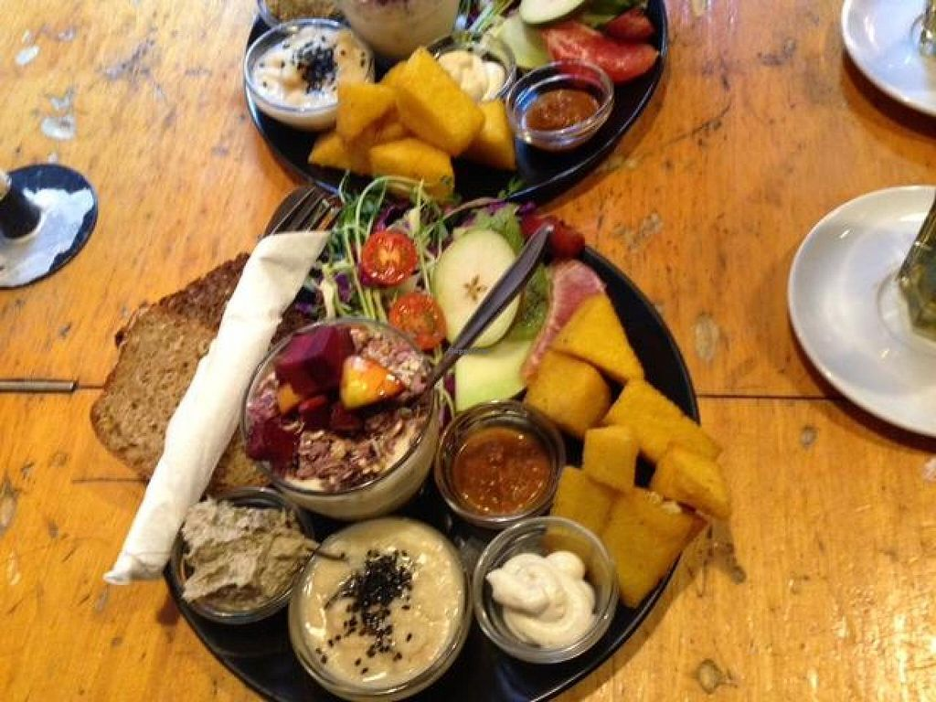 """Photo of Harbo Bar  by <a href=""""/members/profile/Ladan"""">Ladan</a> <br/>Vegan bruch dish <br/> September 13, 2014  - <a href='/contact/abuse/image/46562/79788'>Report</a>"""