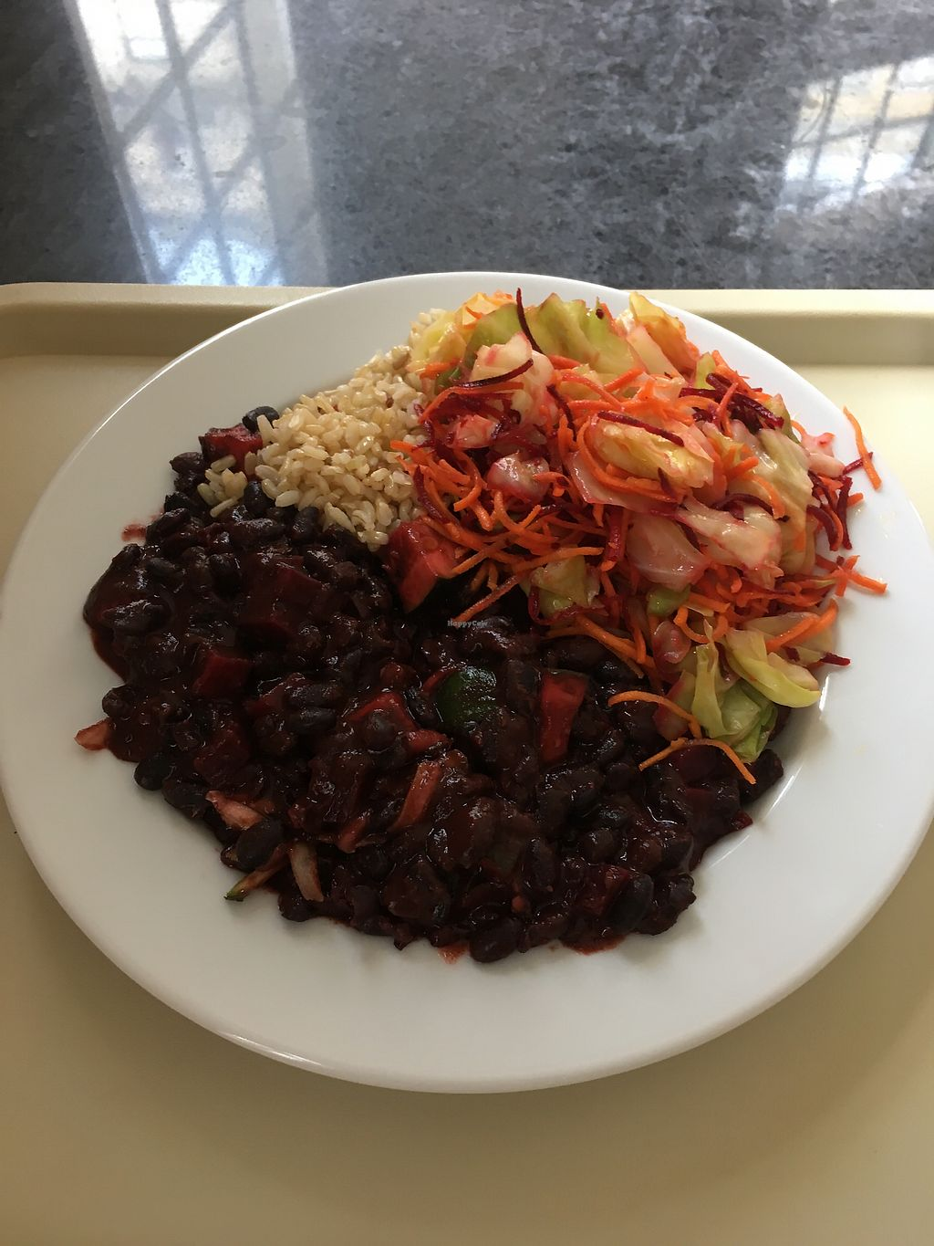 """Photo of Alfarroba  by <a href=""""/members/profile/SaraLou"""">SaraLou</a> <br/>Beans with beetroot  <br/> October 24, 2017  - <a href='/contact/abuse/image/46569/318433'>Report</a>"""