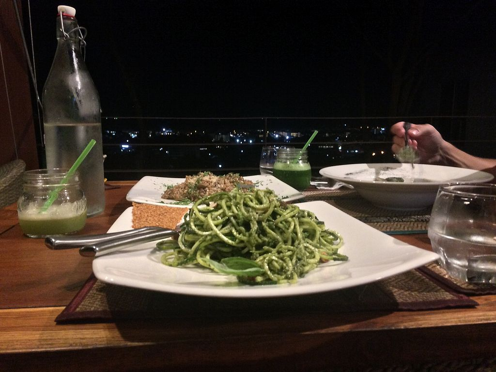 """Photo of Santosa  by <a href=""""/members/profile/yummiee"""">yummiee</a> <br/>Zoodles with a view <br/> August 29, 2017  - <a href='/contact/abuse/image/46587/298677'>Report</a>"""