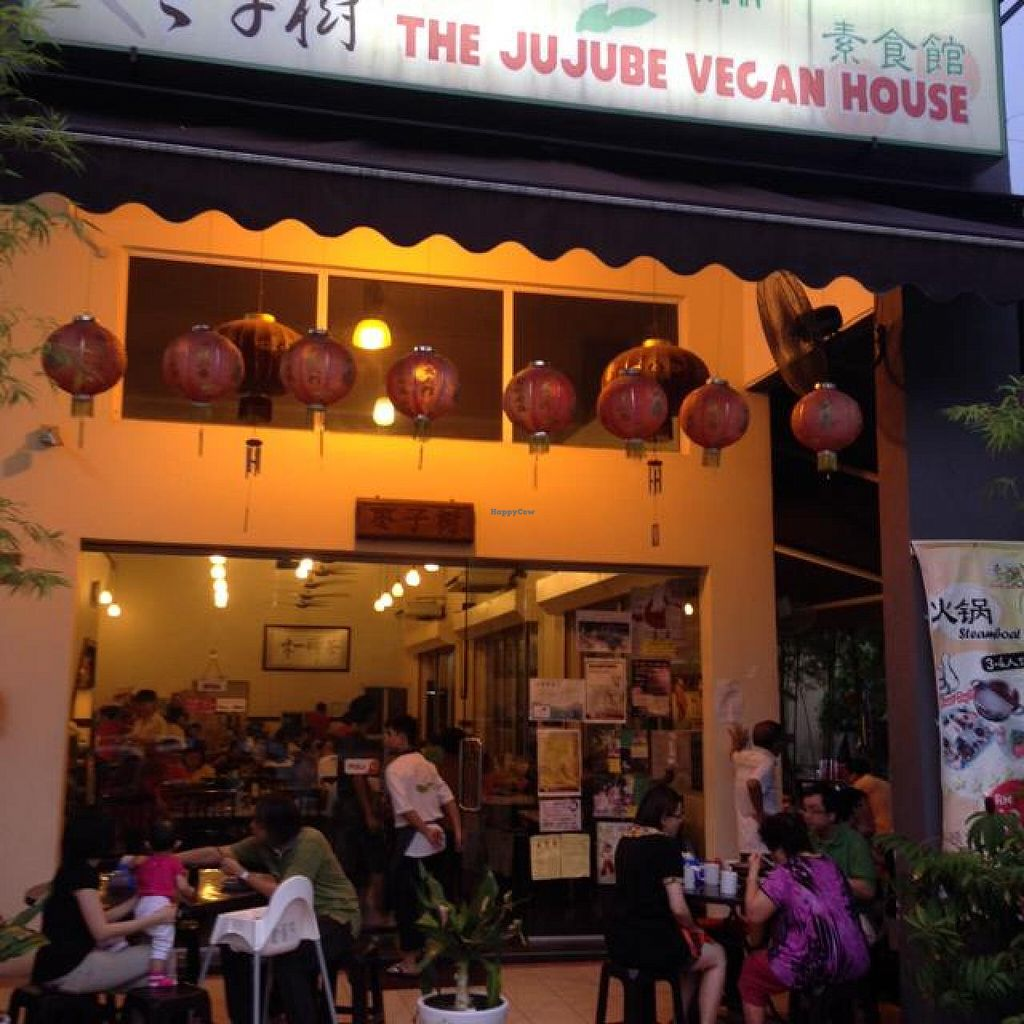 """Photo of The Jujube - Taman Fadason  by <a href=""""/members/profile/AndyT"""">AndyT</a> <br/>Outside view at night <br/> April 20, 2014  - <a href='/contact/abuse/image/46588/68054'>Report</a>"""