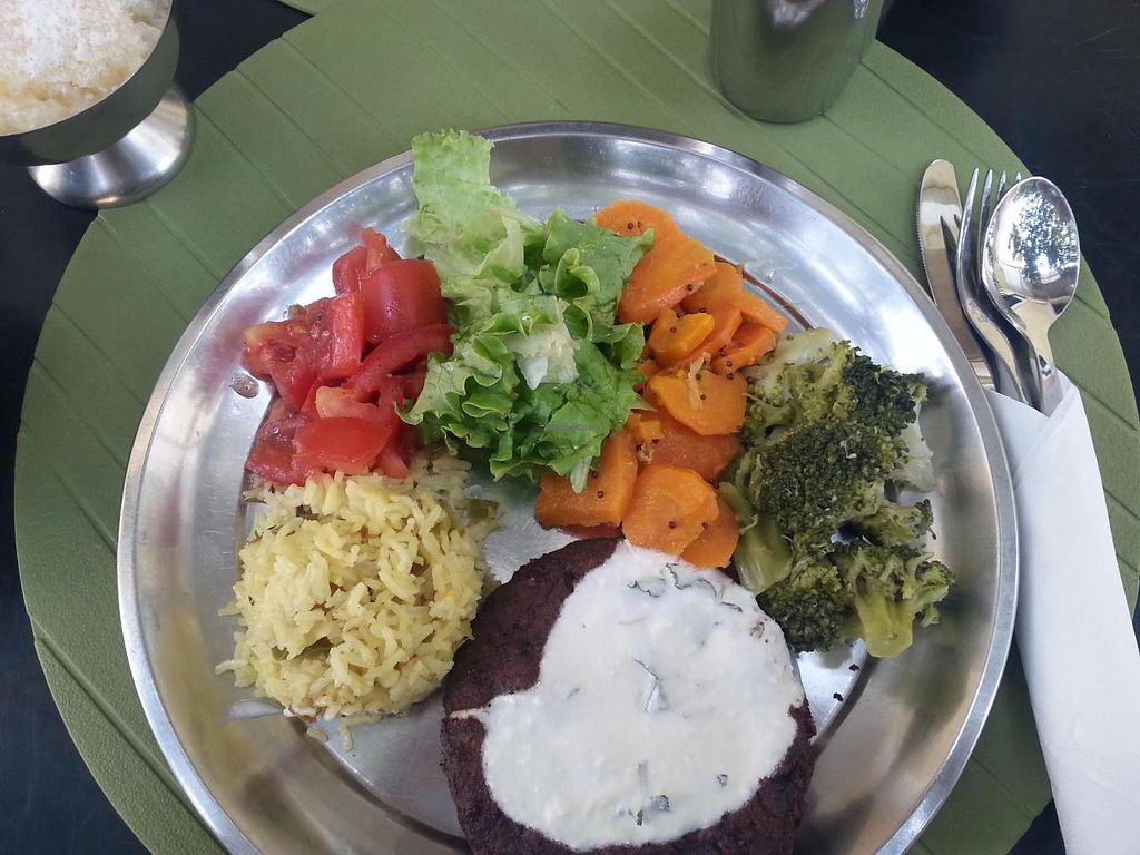 """Photo of Hare Krishna  by <a href=""""/members/profile/mbbl"""">mbbl</a> <br/>Another delicious meal <br/> June 19, 2014  - <a href='/contact/abuse/image/46605/72318'>Report</a>"""