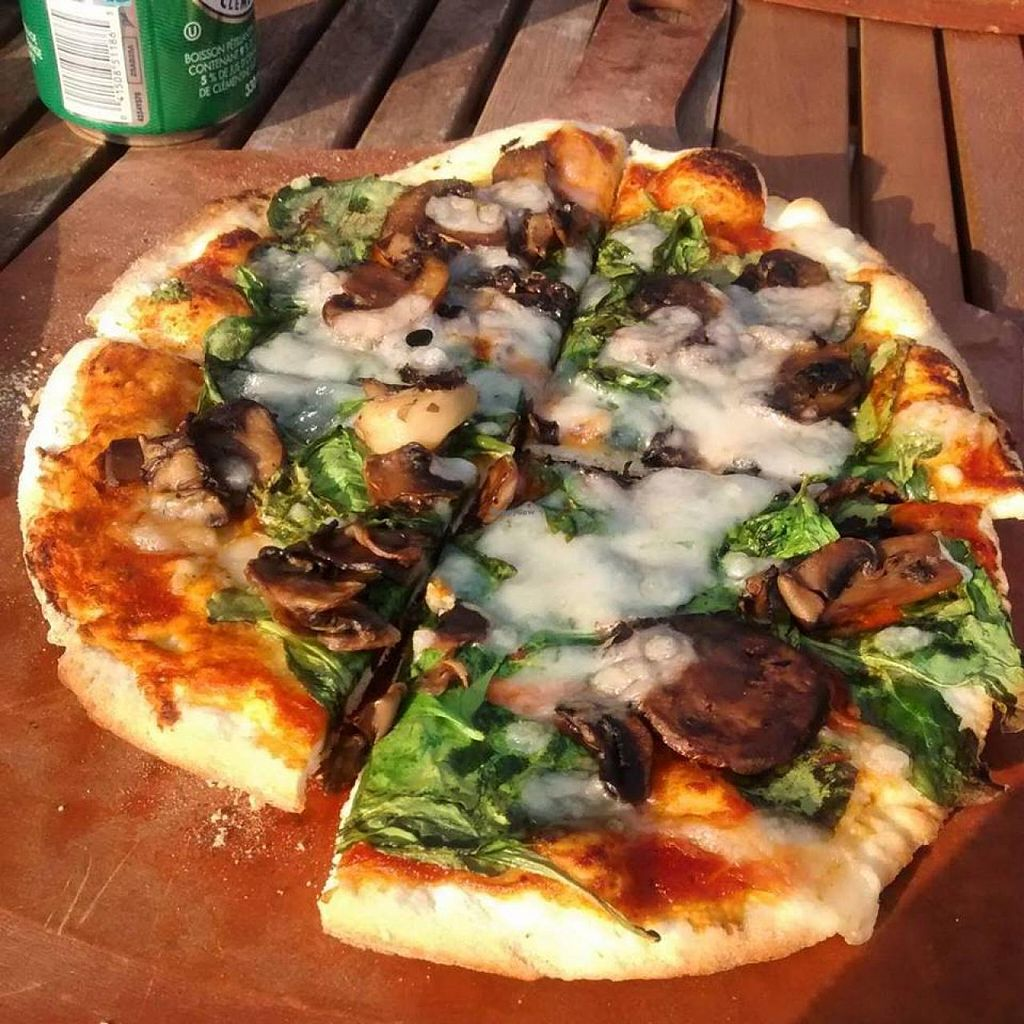 "Photo of CLOSED: Piez Bistro  by <a href=""/members/profile/QuothTheRaven"">QuothTheRaven</a> <br/>Vegan pizza <br/> July 10, 2015  - <a href='/contact/abuse/image/46611/108821'>Report</a>"