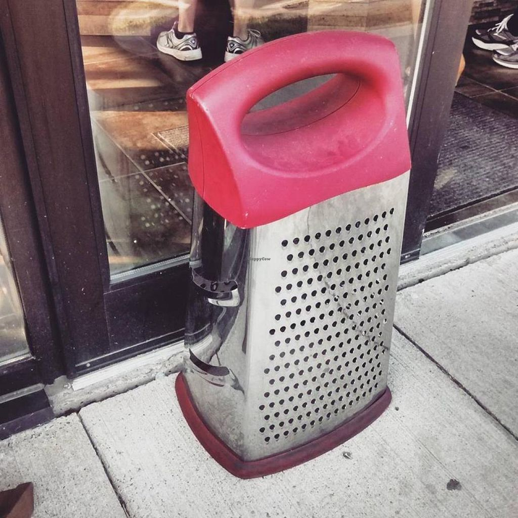 "Photo of CLOSED: Piez Bistro  by <a href=""/members/profile/QuothTheRaven"">QuothTheRaven</a> <br/>Giant grater outside <br/> July 10, 2015  - <a href='/contact/abuse/image/46611/108822'>Report</a>"