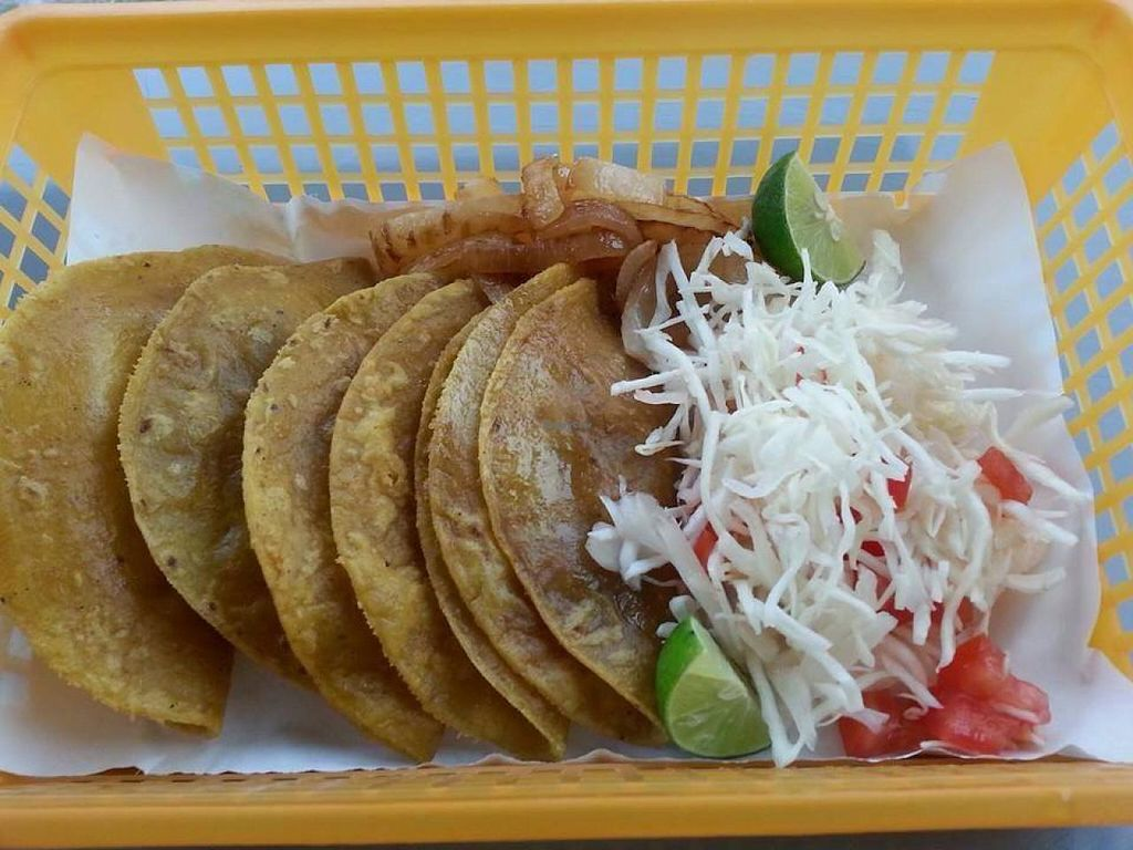 """Photo of La Oveja Verde  by <a href=""""/members/profile/salxvx"""">salxvx</a> <br/>Steamed tacos <br/> May 5, 2014  - <a href='/contact/abuse/image/46614/69394'>Report</a>"""