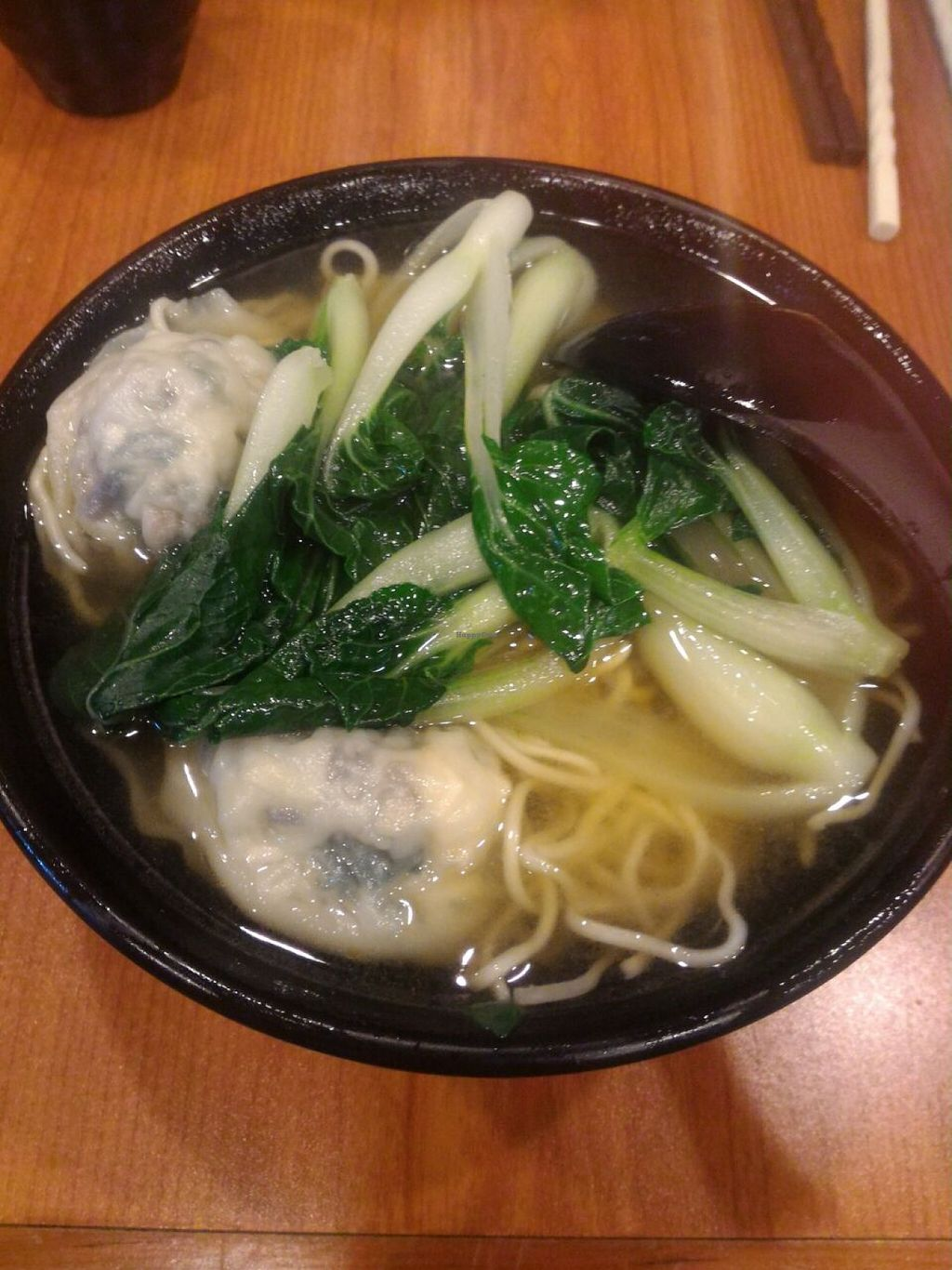 """Photo of CLOSED: Lotus Vegetarian  by <a href=""""/members/profile/ouikouik"""">ouikouik</a> <br/>wanton noodles (hkd37) <br/> December 11, 2015  - <a href='/contact/abuse/image/46656/127937'>Report</a>"""
