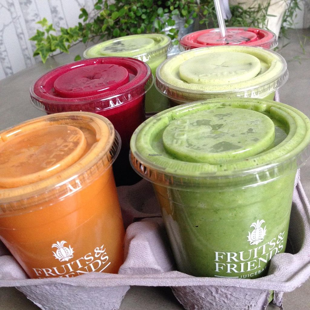 """Photo of Fruits and Friends Juicebar  by <a href=""""/members/profile/anderssonfelice"""">anderssonfelice</a> <br/>Juice delivery  <br/> December 30, 2014  - <a href='/contact/abuse/image/46659/89001'>Report</a>"""