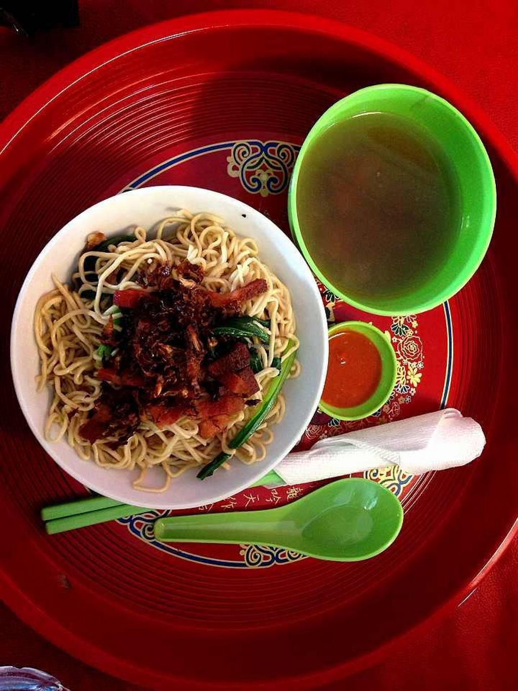 """Photo of CLOSED: Indo Vege  by <a href=""""/members/profile/tony%20surf"""">tony surf</a> <br/>Sarawak Home made tender noodles with mushroom sauce. Local with choose this as their breakfast.  <br/> April 21, 2014  - <a href='/contact/abuse/image/46666/68228'>Report</a>"""