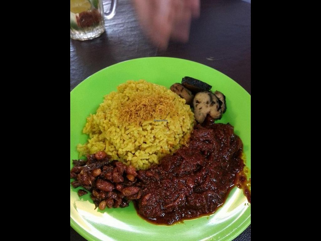 """Photo of CLOSED: Indo Vege  by <a href=""""/members/profile/tony%20surf"""">tony surf</a> <br/>very delicious nasi kuning vege <br/> April 26, 2014  - <a href='/contact/abuse/image/46666/68688'>Report</a>"""