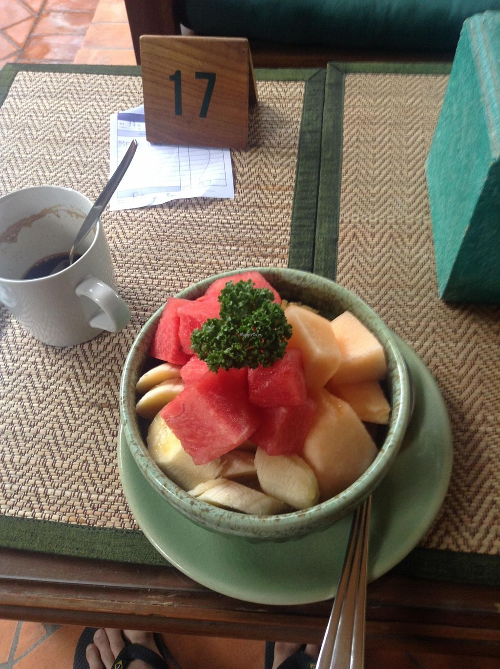 """Photo of Green Tiger House  by <a href=""""/members/profile/YozzyOti"""">YozzyOti</a> <br/>Museli with seasonal fruits (rice milk)  you have to ask for the vegan option <br/> September 18, 2015  - <a href='/contact/abuse/image/46701/118255'>Report</a>"""