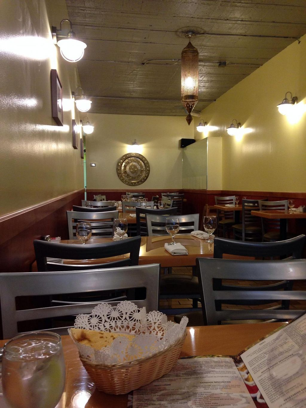 """Photo of Bethesda Curry Kitchen  by <a href=""""/members/profile/cookiem"""">cookiem</a> <br/>Decor <br/> April 25, 2014  - <a href='/contact/abuse/image/46751/68578'>Report</a>"""