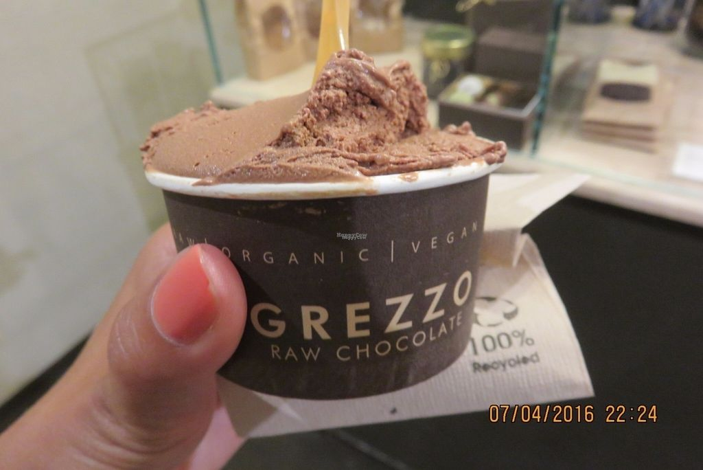 "Photo of Grezzo Raw Chocolate  by <a href=""/members/profile/tracyrocks"">tracyrocks</a> <br/>chocolate gelato <br/> August 28, 2016  - <a href='/contact/abuse/image/46755/172047'>Report</a>"