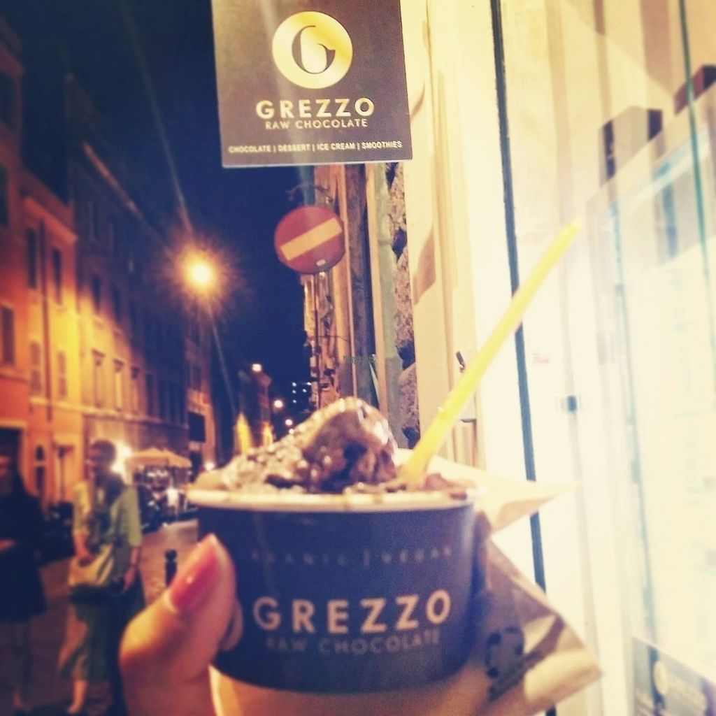 "Photo of Grezzo Raw Chocolate  by <a href=""/members/profile/tracyrocks"">tracyrocks</a> <br/>chocolate gelato with sign outside <br/> August 28, 2016  - <a href='/contact/abuse/image/46755/172049'>Report</a>"
