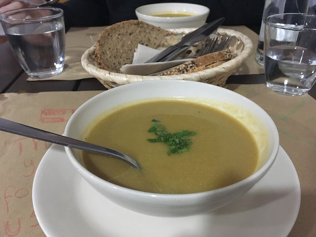 "Photo of Racimo16  by <a href=""/members/profile/loneklim"">loneklim</a> <br/>Artichoke soup  <br/> March 28, 2018  - <a href='/contact/abuse/image/46775/377203'>Report</a>"