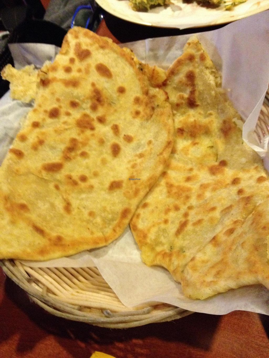 "Photo of Karaikudi Palace  by <a href=""/members/profile/Tigra220"">Tigra220</a> <br/>Aloo Paratha (whole wheat bread stuffed with potatoes) <br/> August 31, 2014  - <a href='/contact/abuse/image/46801/78737'>Report</a>"