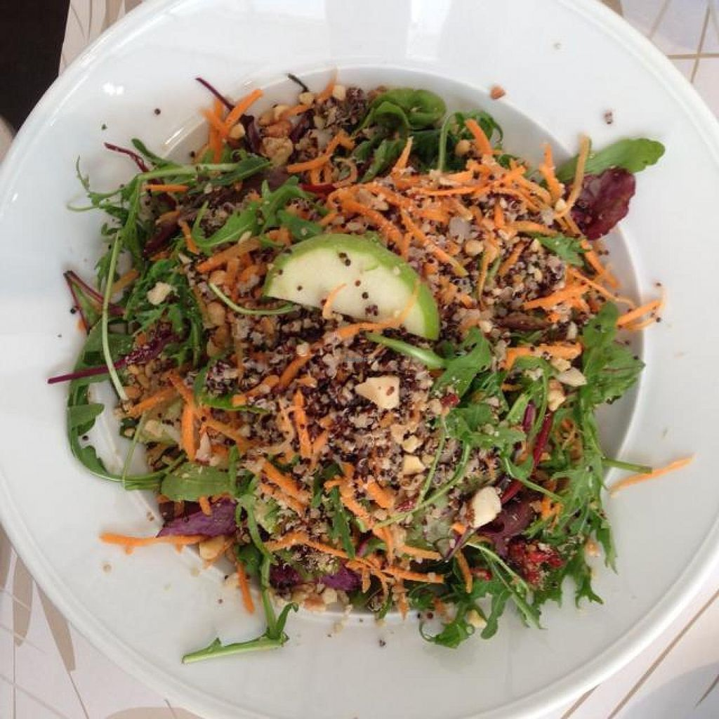 """Photo of Cafe Louise - Ramat HaHayal  by <a href=""""/members/profile/Brok%20O.%20Lee"""">Brok O. Lee</a> <br/>Super Health Salad <br/> April 27, 2014  - <a href='/contact/abuse/image/46853/68771'>Report</a>"""