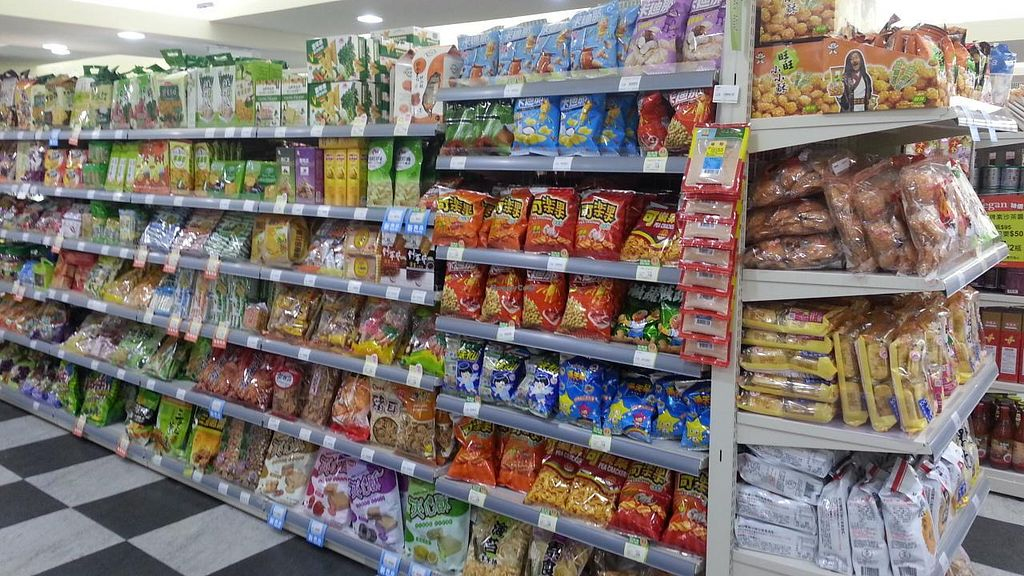 """Photo of iVegan Supermarket  by <a href=""""/members/profile/eric"""">eric</a> <br/>chips and crackers <br/> October 10, 2014  - <a href='/contact/abuse/image/46854/82618'>Report</a>"""