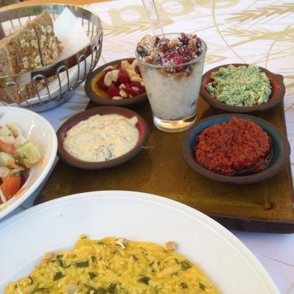 """Photo of CLOSED: Cafe Louise - Ramat Aviv  by <a href=""""/members/profile/Brok%20O.%20Lee"""">Brok O. Lee</a> <br/>Big vegan breakfast <br/> October 9, 2014  - <a href='/contact/abuse/image/46870/82420'>Report</a>"""