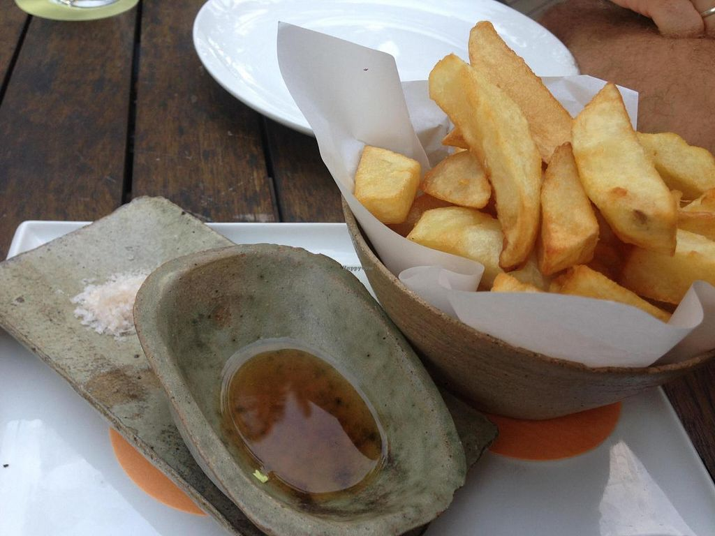 """Photo of Nu Nu  by <a href=""""/members/profile/chantea"""">chantea</a> <br/>Hand cut chips with house-made vinegar and sea salt <br/> April 28, 2014  - <a href='/contact/abuse/image/46876/68831'>Report</a>"""