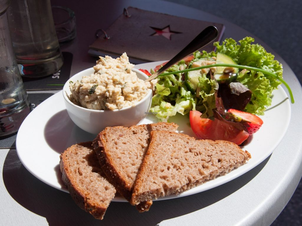 """Photo of Cafe Stern  by <a href=""""/members/profile/biancah"""">biancah</a> <br/>Hummus Plate @ Café Stern, Linz <br/> January 17, 2016  - <a href='/contact/abuse/image/46886/132816'>Report</a>"""