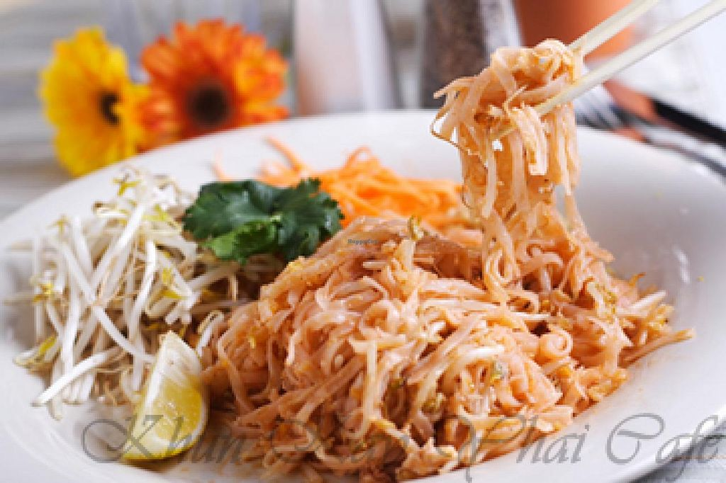 "Photo of Khun Kay Thai Cafe  by <a href=""/members/profile/community"">community</a> <br/>Pad thai <br/> June 25, 2014  - <a href='/contact/abuse/image/46910/72727'>Report</a>"