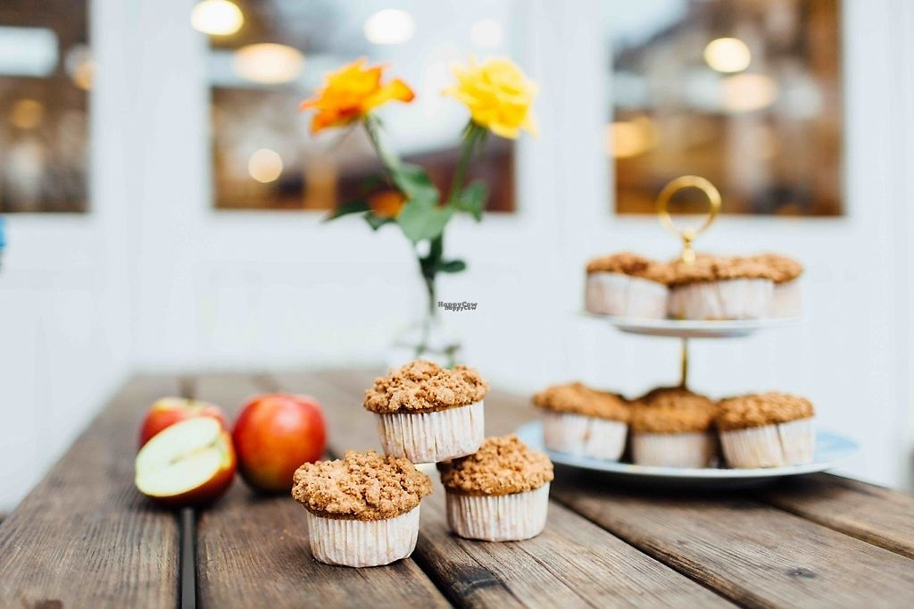 """Photo of Vlowers Breakfast Cafe  by <a href=""""/members/profile/Vlowers"""">Vlowers</a> <br/>Apple Muffins <br/> January 21, 2017  - <a href='/contact/abuse/image/46923/213789'>Report</a>"""