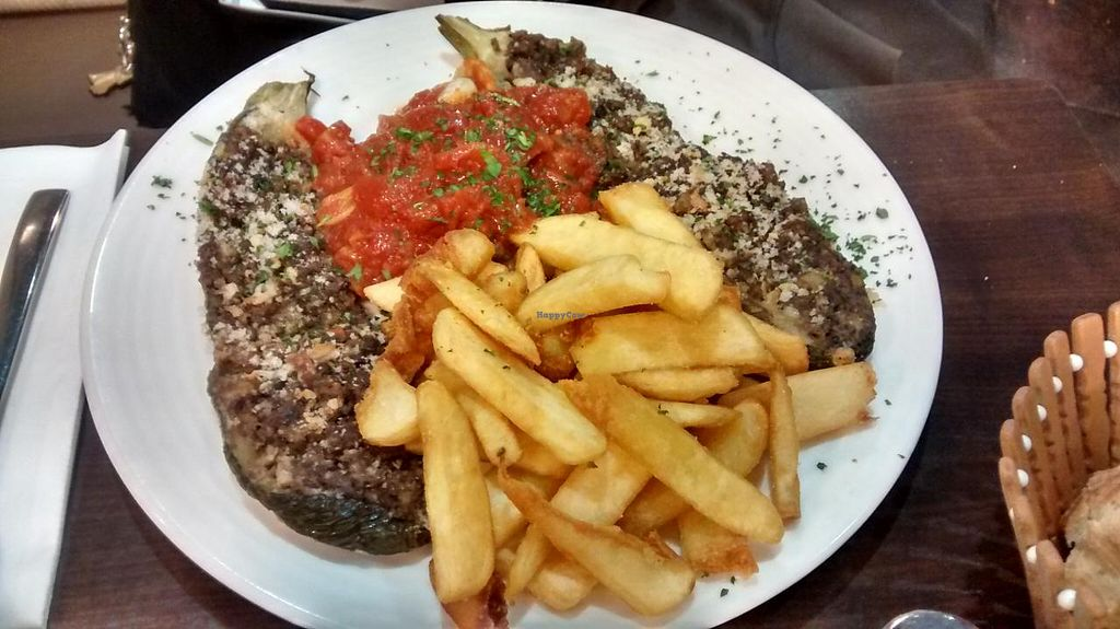 """Photo of Caprice Cafe  by <a href=""""/members/profile/JonJon"""">JonJon</a> <br/>Sstuffed zucchini and rice <br/> June 15, 2015  - <a href='/contact/abuse/image/46932/106011'>Report</a>"""