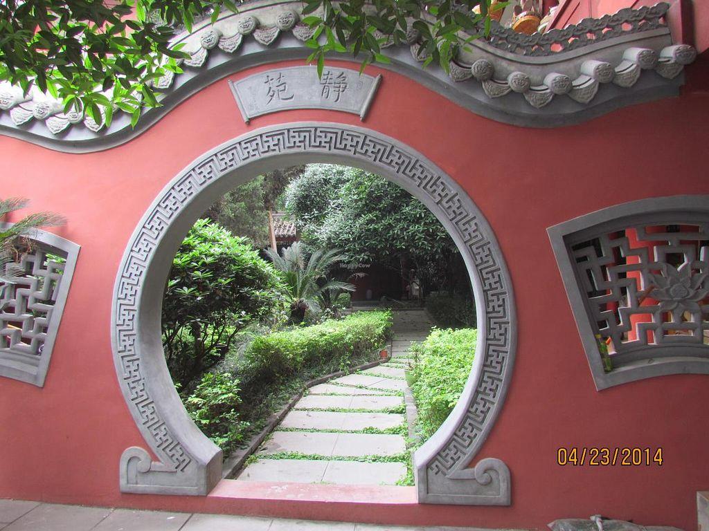 "Photo of Chengdu Aidao Nunnery  by <a href=""/members/profile/papajonquinn"">papajonquinn</a> <br/>Garden Portal <br/> April 29, 2014  - <a href='/contact/abuse/image/46943/68930'>Report</a>"
