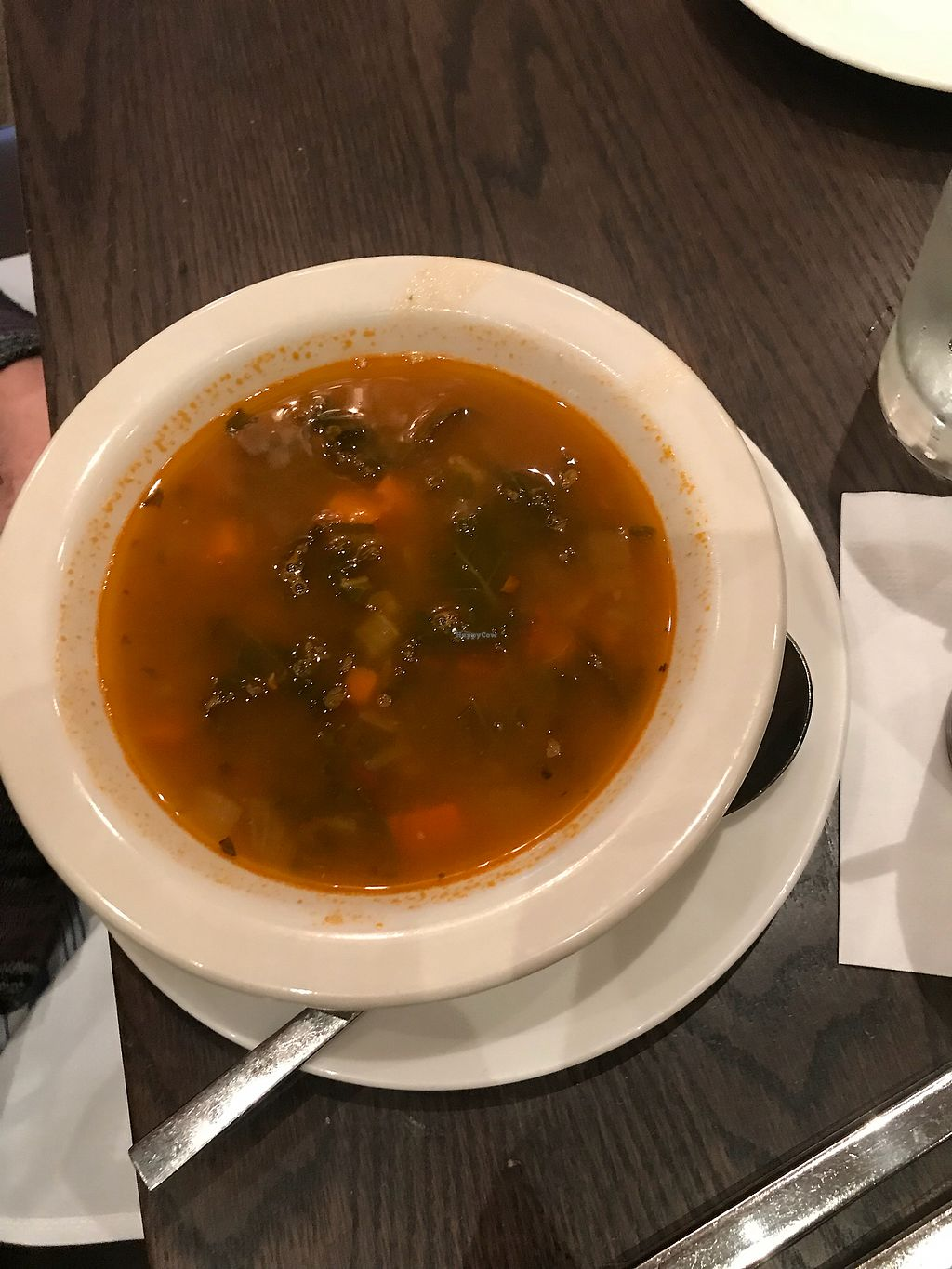 """Photo of Farmer's Table  by <a href=""""/members/profile/bi1405"""">bi1405</a> <br/>Kale and lentil soup <br/> January 12, 2018  - <a href='/contact/abuse/image/46952/345811'>Report</a>"""
