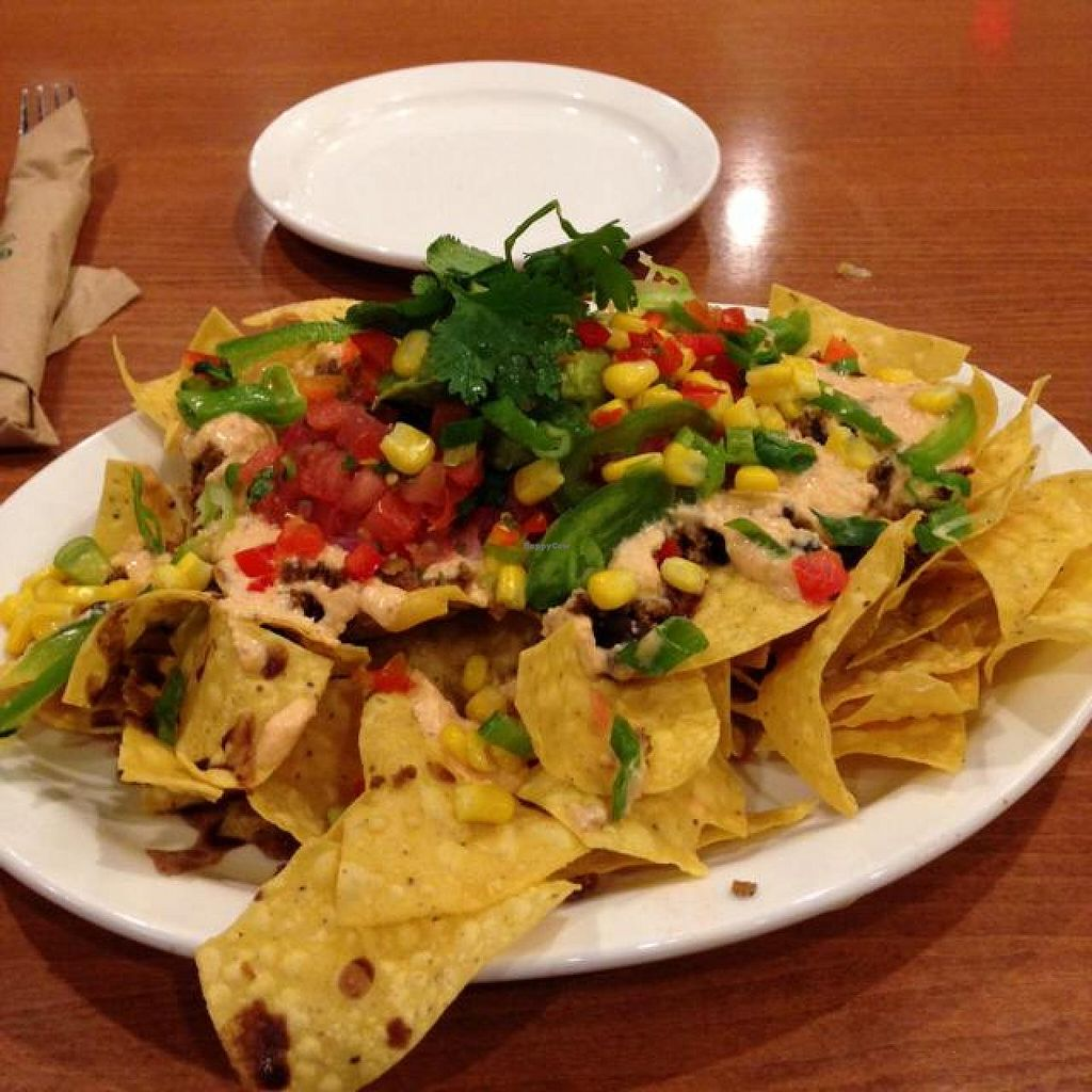 """Photo of Native Foods - Point Loma  by <a href=""""/members/profile/Silent8176"""">Silent8176</a> <br/>native nachos <br/> June 6, 2014  - <a href='/contact/abuse/image/46998/71518'>Report</a>"""