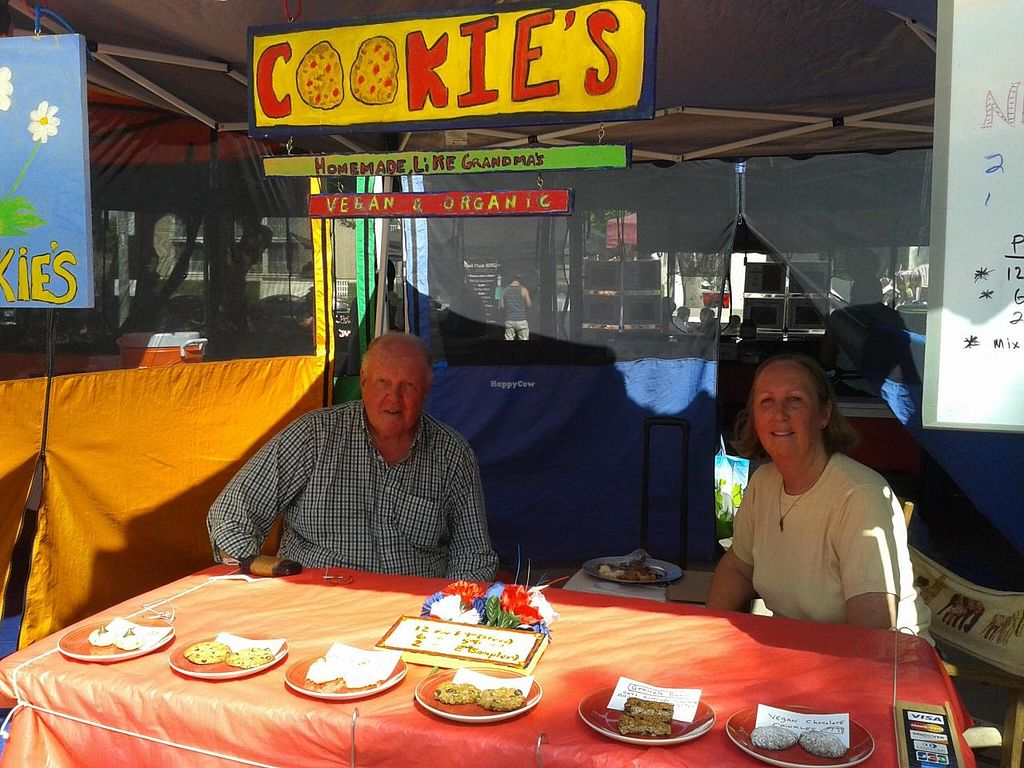"Photo of Local Harvest Farmers Markets  by <a href=""/members/profile/chobesoy"">chobesoy</a> <br/>Cookie's cookies! gluten free, vegan, organic, and delicious <br/> May 1, 2014  - <a href='/contact/abuse/image/47000/69094'>Report</a>"