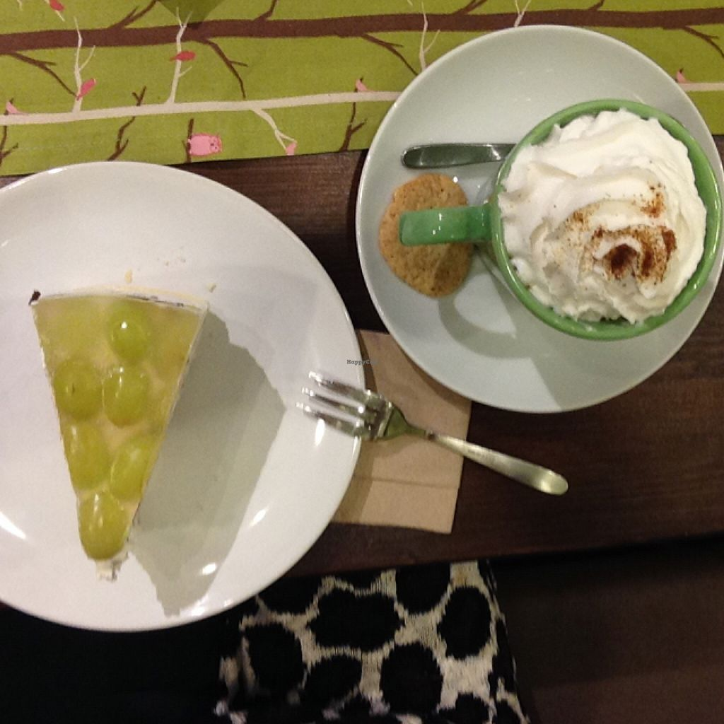 """Photo of Carrot Cake  by <a href=""""/members/profile/JessOeh"""">JessOeh</a> <br/>pumpkin spice latte and straciatella grape cake  <br/> November 15, 2015  - <a href='/contact/abuse/image/47025/125074'>Report</a>"""