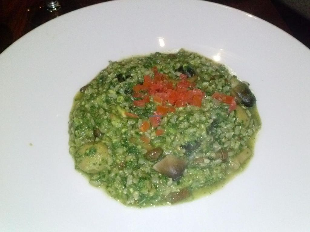 "Photo of Panevino  by <a href=""/members/profile/Sonja%20and%20Dirk"">Sonja and Dirk</a> <br/>pesto mushroom risotto <br/> December 29, 2014  - <a href='/contact/abuse/image/47047/88975'>Report</a>"