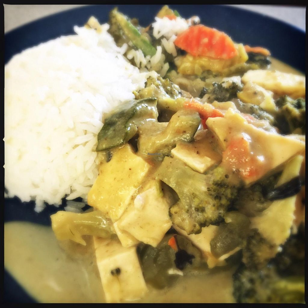 "Photo of Thai Mini Cafe  by <a href=""/members/profile/Veggie46"">Veggie46</a> <br/>green curry <br/> June 26, 2015  - <a href='/contact/abuse/image/47054/107394'>Report</a>"