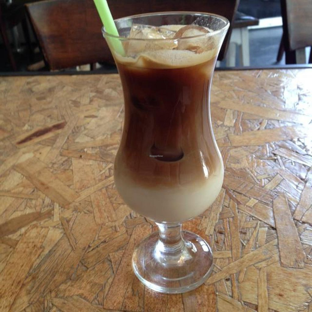 "Photo of CLOSED: Salvador Cafe  by <a href=""/members/profile/Brok%20O.%20Lee"">Brok O. Lee</a> <br/>Ice Coffee with almond-rice milk <br/> May 31, 2014  - <a href='/contact/abuse/image/47078/71086'>Report</a>"