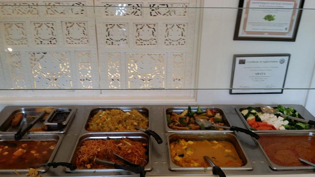 "Photo of Araya's Place - Madison St  by <a href=""/members/profile/The%20Hungry%20Vegan"">The Hungry Vegan</a> <br/>Lunch Buffet <br/> February 21, 2015  - <a href='/contact/abuse/image/47107/93665'>Report</a>"