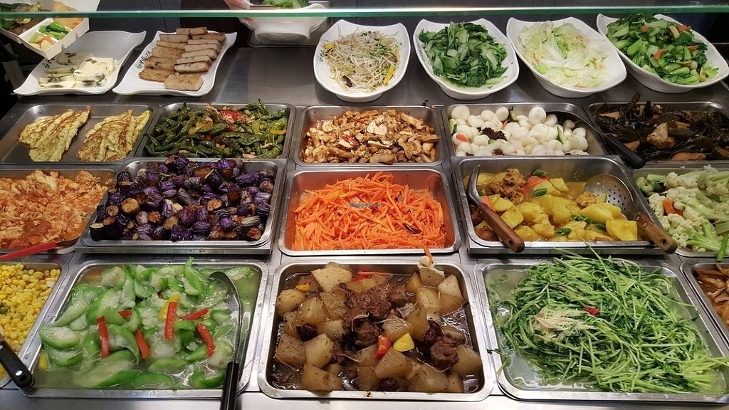 """Photo of Country Health - Tianmu  by <a href=""""/members/profile/yogiexplorer"""">yogiexplorer</a> <br/>Vegan buffet dishes <br/> July 30, 2016  - <a href='/contact/abuse/image/47139/163315'>Report</a>"""